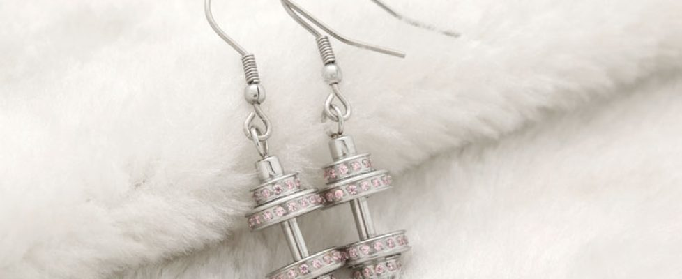 What kind of earrings are good for sensitive ears?